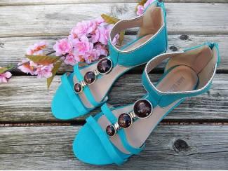 BOHEMIAN Sandal - Turquoise - Maat 40 en 41