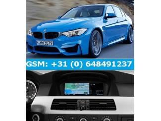 BMW PROFESSIONAL versie 2018 Navigatie Update EU (3xdvd)