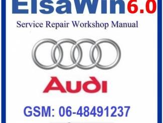 AUDI ELSAWIN 6.0 versie 2018 Werkplaats Software op 16Gb USB