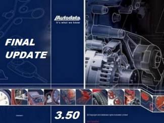 AUTODATA 3.50 Werkplaats SOftware met alle Automerken op dvd