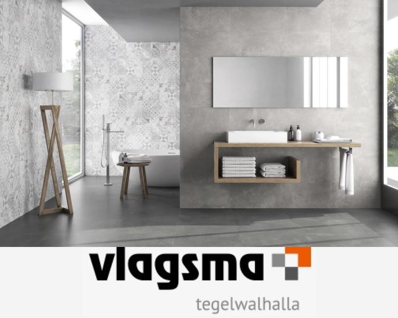 Badkamer Tegels Bruin : Betonlook badkamertegels cm en cm gerectificeerd tegels