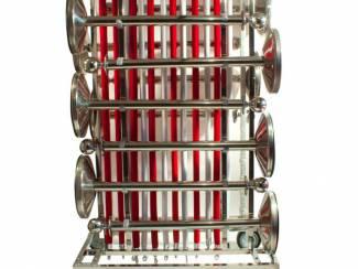 Transportkar afzetpalen op zwenkwielen. Direct leverbaar