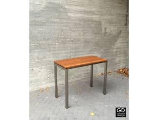 Zeer mooie rvs design sta tafel! Op maat geleverd!