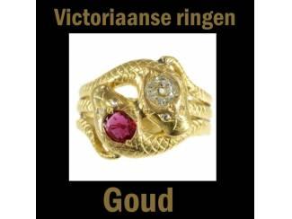 Bijzondere victoriaanse trouwringen van goud
