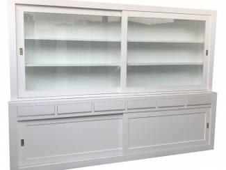 Moderne witte design buffetkast 300 x 220cm