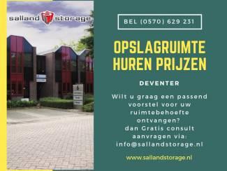 Prijzen Opslagruimte in Deventer - Salland Storage