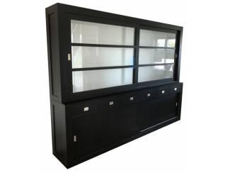 Winkelkast design Hasselt zwart 300 x 220cm