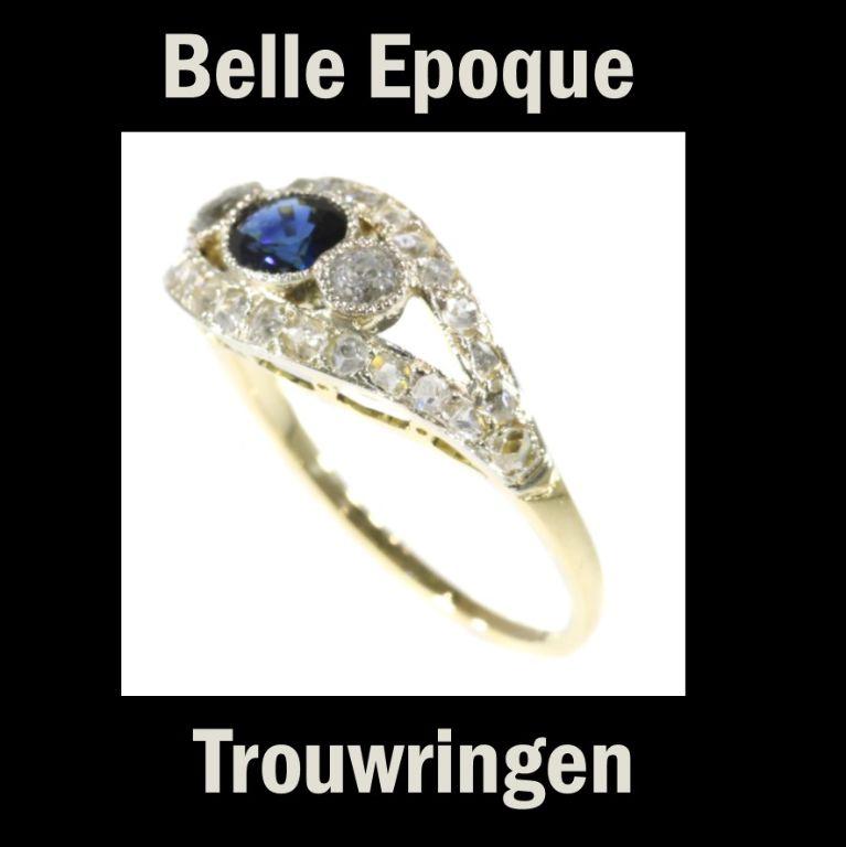 Prachtige Belle Epoque Ringen In Antwerpen Sieraden
