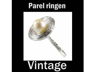 Vintage en Antieke parel ringen