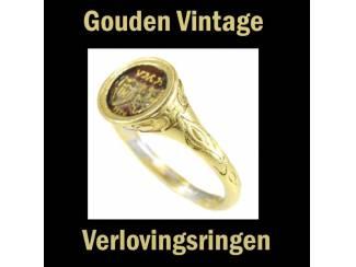 Vintage verlovingsringen in alle kleuren en stijlen.