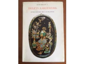 Delfts aardewerk - Oud Delft 5 -Jonkvrouwe Dr. G.H. de Jonge