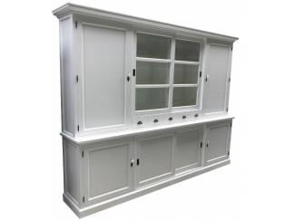 Buffetkast wit XL dichte zijdeuren 310 x 220cm