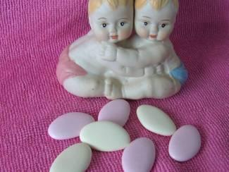 BABY JONGEN/ MEISJE TWEELING aardewerk partijtje 57 STUKS Nieuw