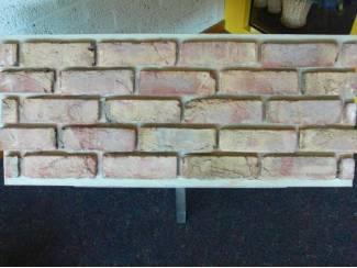 Veldbrand origineel klampsteen steenstrips (binnen en buiten