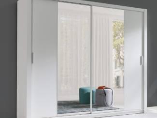 ACTIE Moderne kledingkast met spiegels 220 cm diverse kleuren