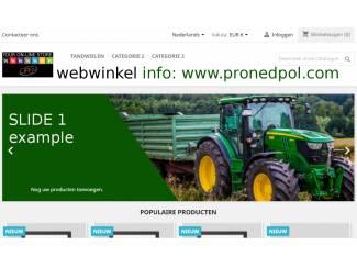 Webwinkel nodig? Staat klaar on-line