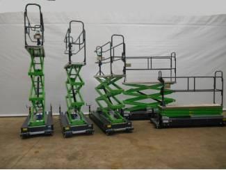Tuinbouw 3 dubbele schaar buisrailwagens te huur
