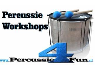 Percussie workshop als teamuitje op lokatie Tilburg, Oss