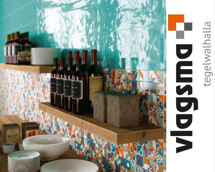 Badkamer Tegels Ceramico : Nieuw van colore ceramica wandtegels serie paint 25x60 cm : tegels
