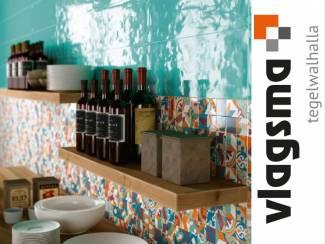 Nieuw Van Colore Ceramica Wandtegels Serie Paint 25x60 cm