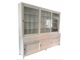 XL design buffetkast wit greeploze laden 300 x 250