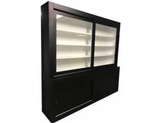 Buffetkast Diemen greeploos XL zwart 260 x 240cm