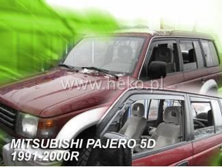 Mitsubishi onderdelen Zijwindschermen mitsubishi getinte raamspoiler oa pajero