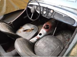 Triumph 1959 Triumph TR3A Roadster om te restaureren