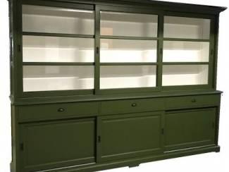 Buffetkast Lisse Olijf groen 310 x 50/40 x 220cm