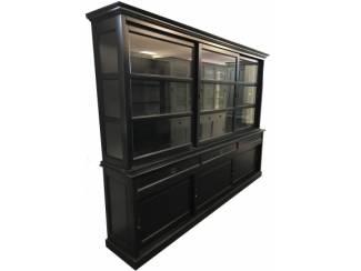 Buffetkast zwart - zwart 300 x 220cm soft close