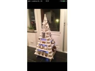 Houten 3d kerstboom