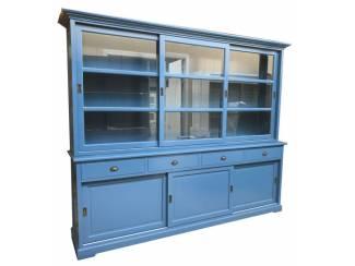 Buffetkast Uden koningsblauw 280 x 50/40 x 220cm