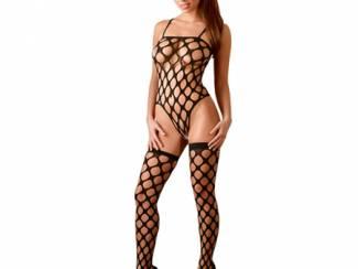Rio Body met Kousen Zwart - One Size S/L