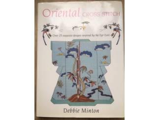 Oriental cross stitch - Debbie Minton