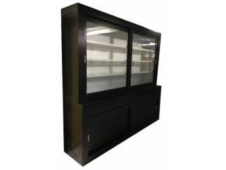 Buffetkast design soft close zwart - wit 240 x 220cm