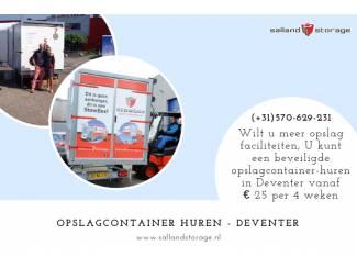 Opslagcontainer Huren | Salland Storage