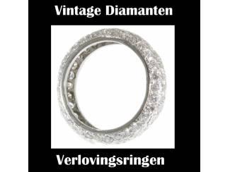 Oude vintage verlovingsringen aan lage prijzen