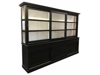 Buffetkast Lisse XL zwart 310 x 50/40 x 220cm