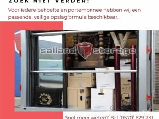 Opslagruimte Huren in Deventer - Salland Storage