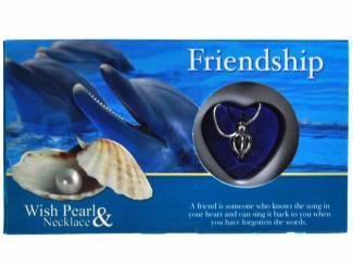 UNIEK GIFT LOVE PEARL FRIENDSHIP IN PRACHTIGE VERPAKKING