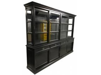 Buffetkast Woensdrecht zwart - zwart 300 x 220cm