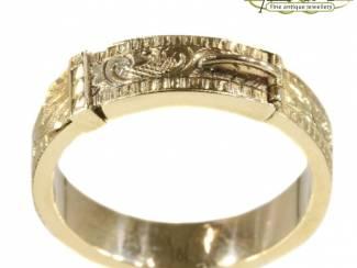 Antieke verlovingsringen van  goud