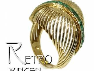 Retro ringen in alle kleuren en stijlen.