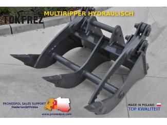 Multiripper hydraulisch, uitrusting graafmachines