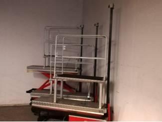 Elektrokarren 1 x hydraulisch met extra opstap