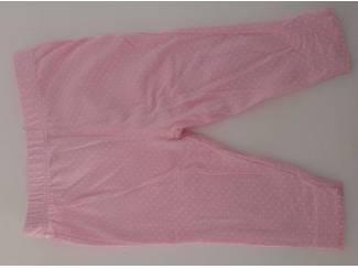 C&a roze broek stip 56 (n767)