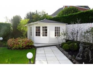 Tuinhuis-Blokhut 3555 Plus: 350 x 350 x 283 (h) cm