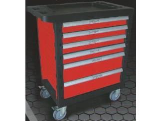 Automotive Gereedschap Gevulde gereedschapkar met zijdeur