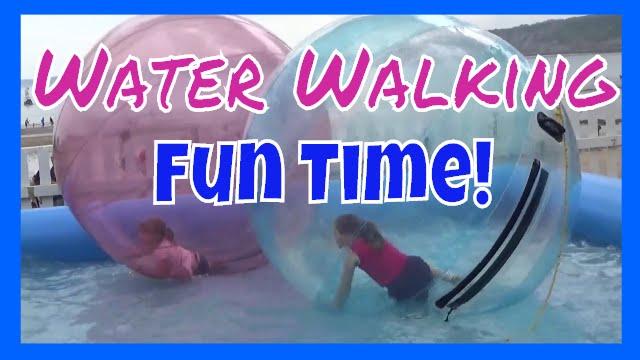 Kermis Attractie Walking Waterballs