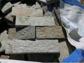 AANBIEDING echte granieten strips voor bekleden van wanden